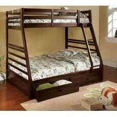 Двухъярусная семейная кровать Кайли
