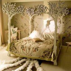 Кровать с балдахином Либер