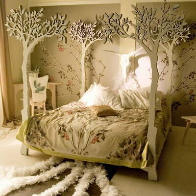 Кровать с балдахином Либер, фото, цена