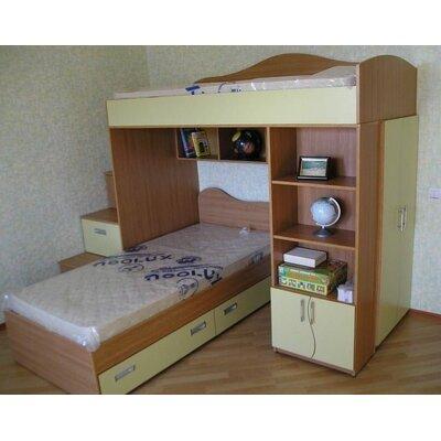Кровать-чердак Комби-5Д, фото, цена