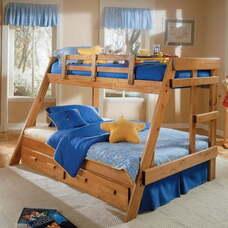 Двухъярусная семейная кровать Раяна