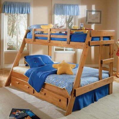 Двухъярусная семейная кровать Раяна, фото, цена