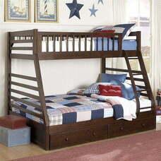 Двухъярусная семейная кровать Монтана-2