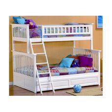 Двухъярусная семейная кровать Буратино