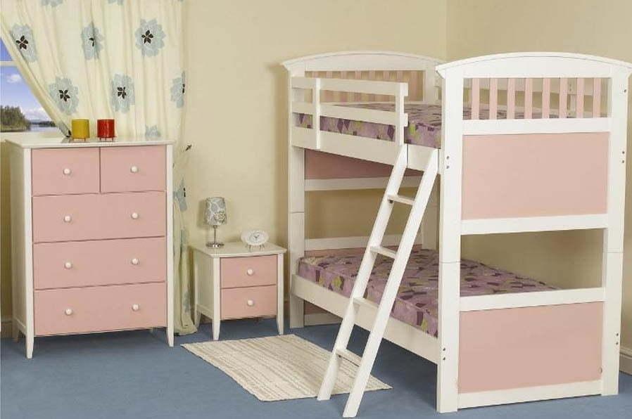Фото - Двухъярусная деревянная кровать